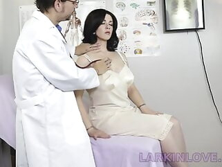 Son Watches Mom Being Molested by the Doctor porntv fingering double penetration hd videos