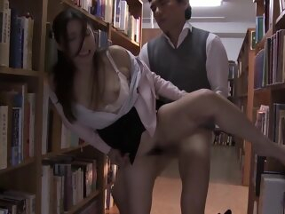 Teacher Fucked At A School Library porntv hairy hd milf