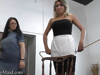 Different Drowsy Maid Caned porntv lesbian bdsm british