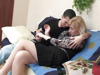of age blonde with younger baffle porntv cumshot mature milf