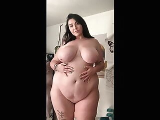 Beautiful PAWG Hips porntv bbw shower big boobs