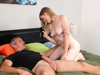 Nikki Sweet in Teaching Daddy A Lesson - StepSiblingsCaught porntv big ass hairy small tits