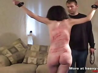 Hard pricking for the slave porntv bdsm spanking hd videos
