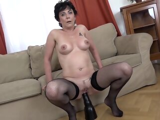 Granny Takes Bbcs porntv anal big cock brunette